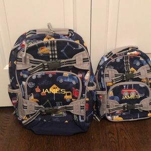Pottery Barn Kids small and extra small backpacks